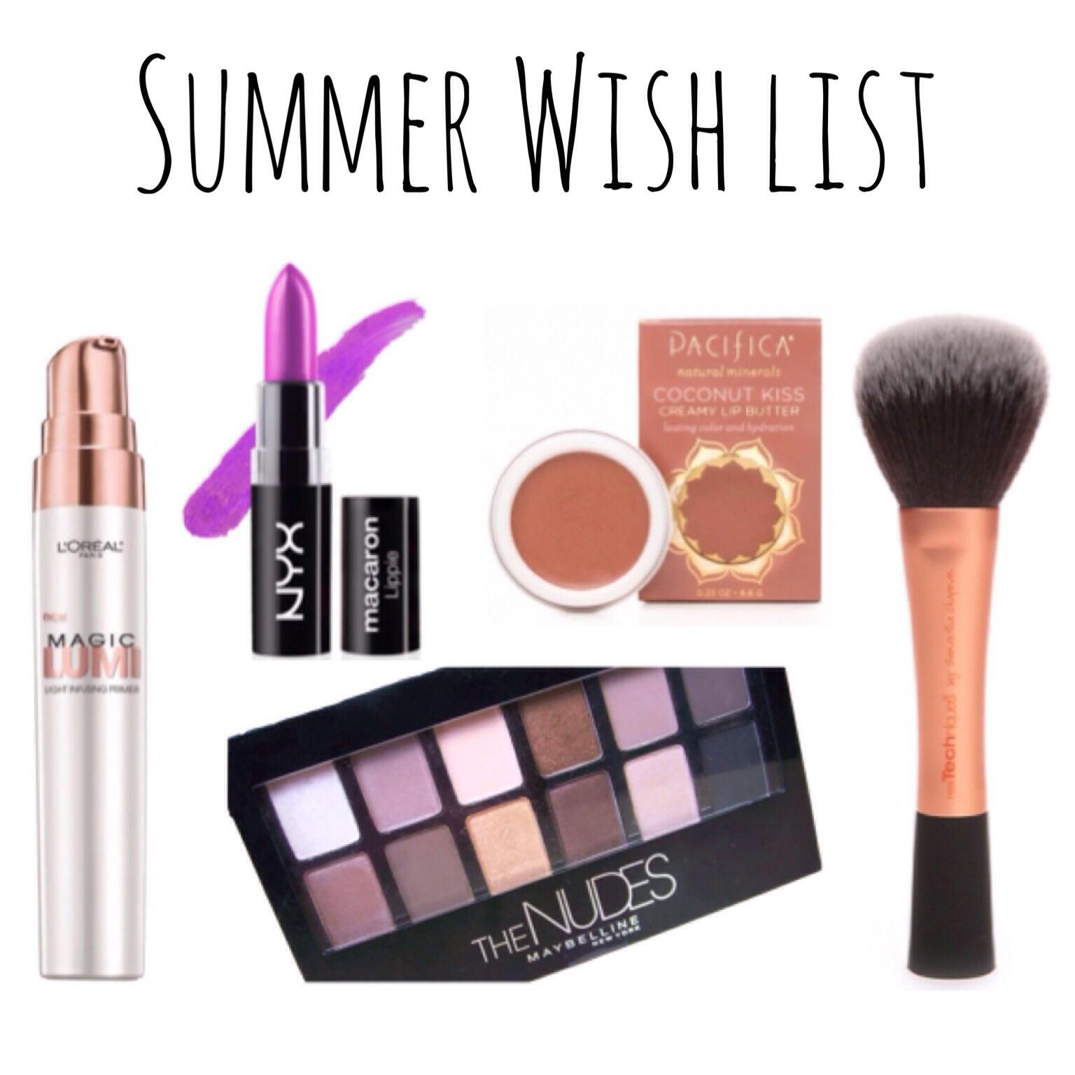 Summer Wish List 2014