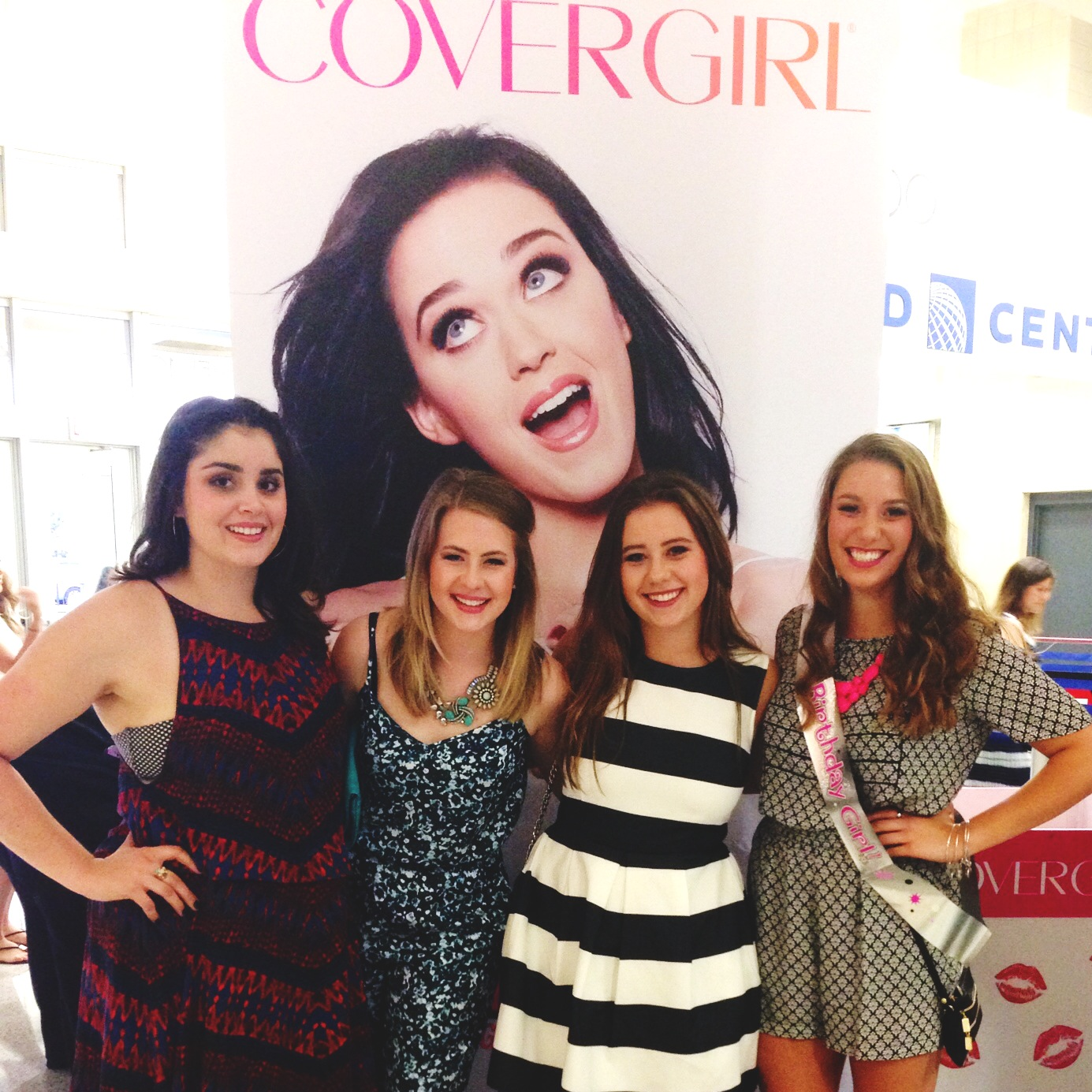 There was a lot of CoverGirl stuff all around but I wasn't complaining!
