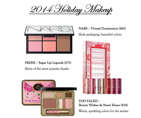 2014 Holiday Makeup
