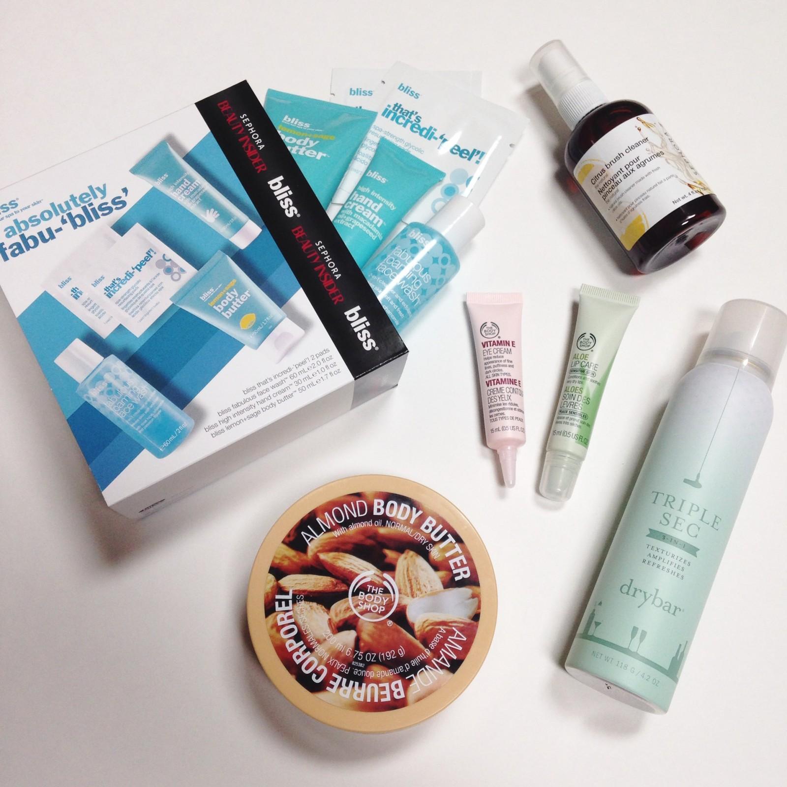 Haul: Sephora & The Body Shop