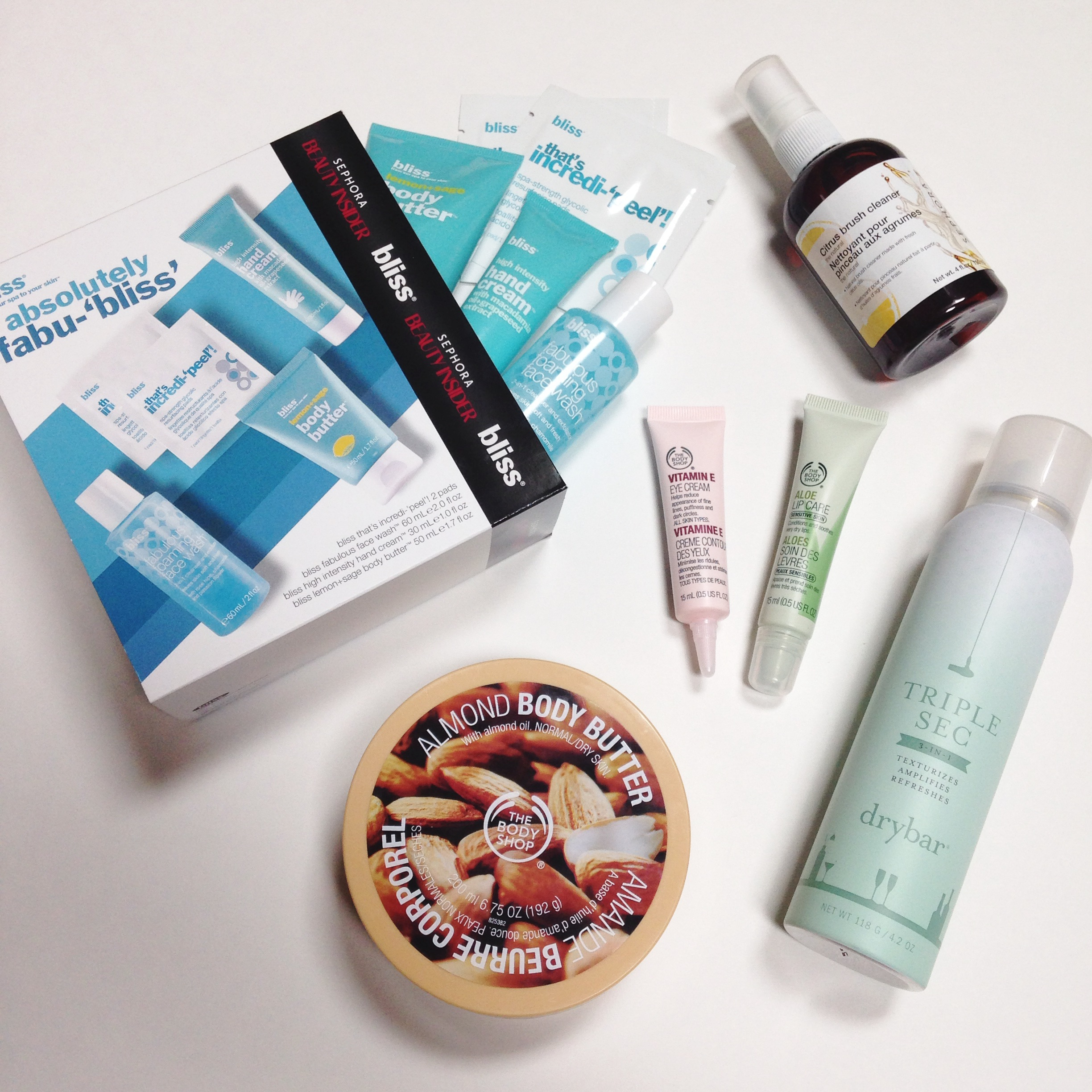 Sephora & The Body Shop Haul