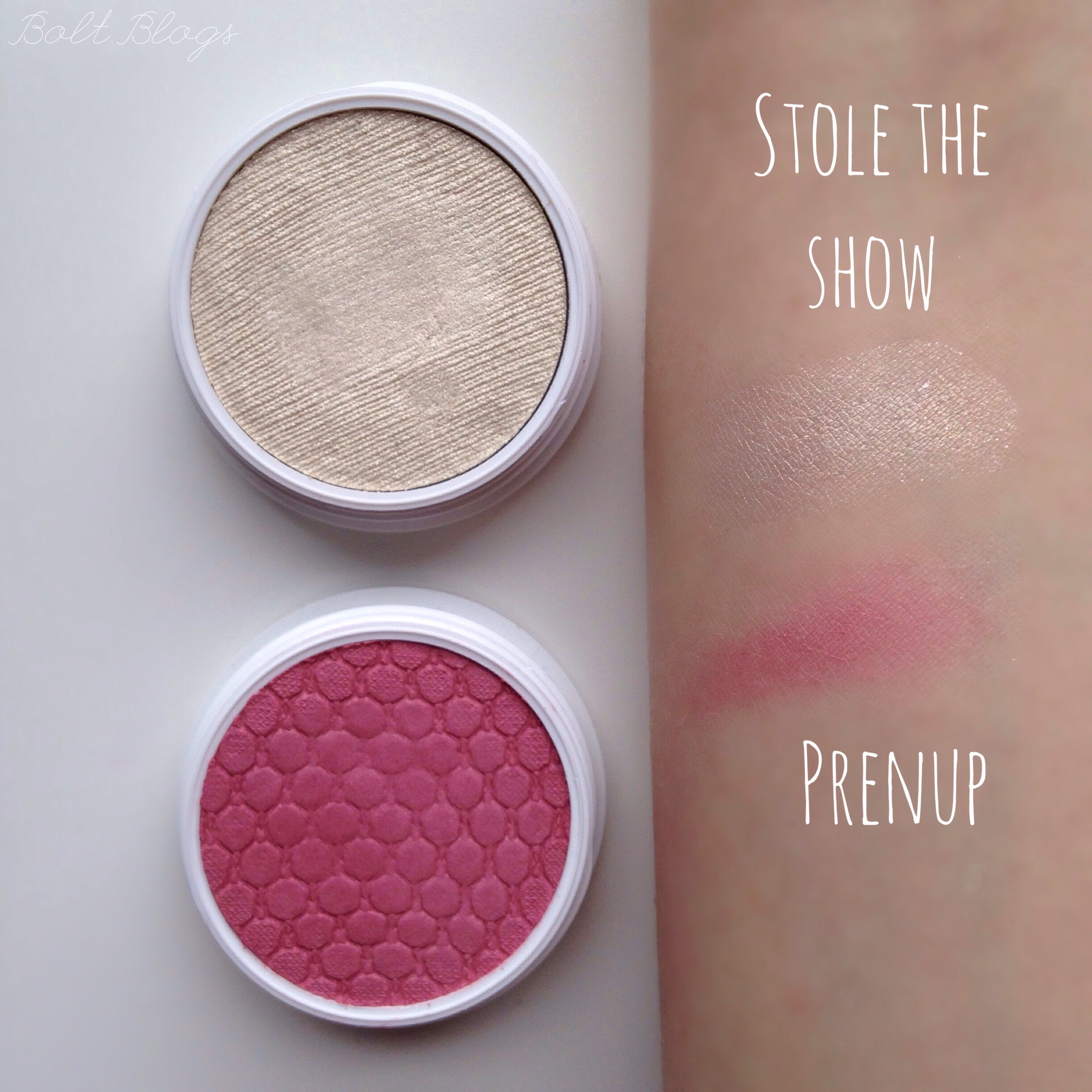 Colour Pop Stole The Show, Prenup Swatches | Bolt Blogs