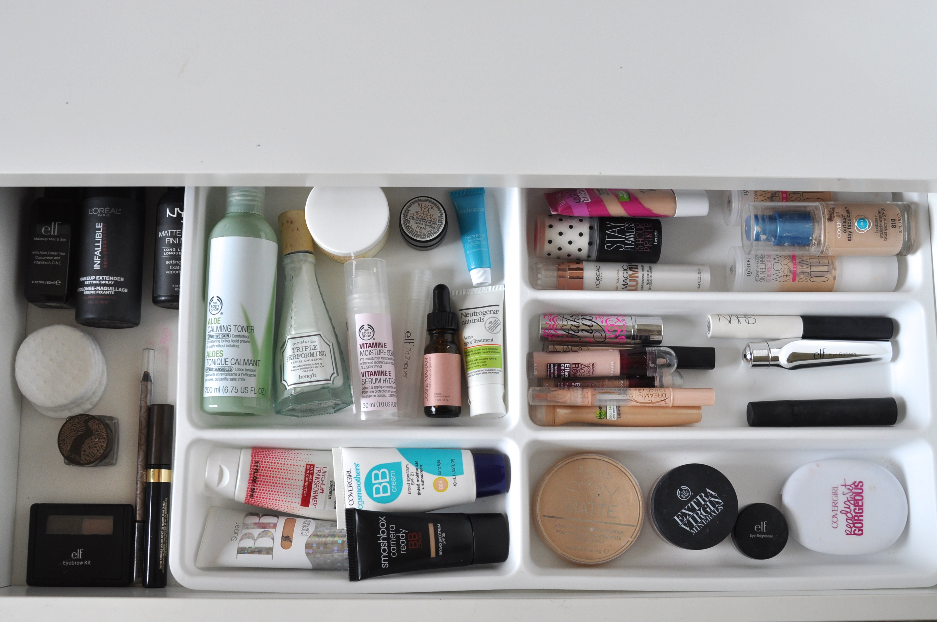IKEA Makeup Storage | Bolt Blogs