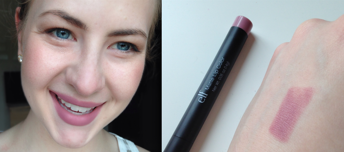 elf matte lip color Tea Rose Swatch | Bolt Blogs
