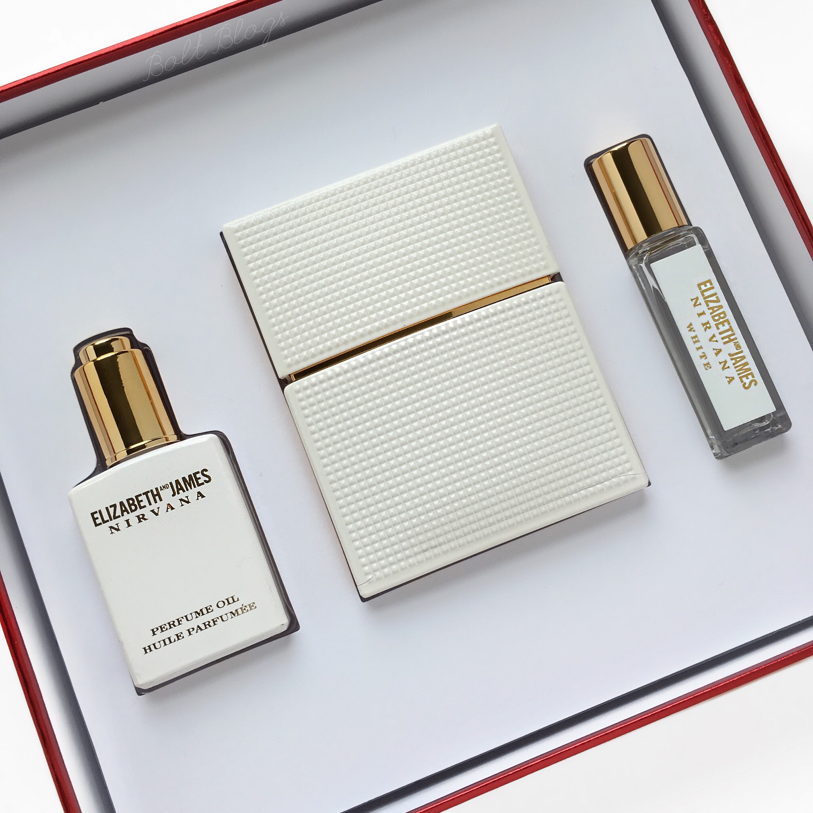 Nirvana White Perfume Set