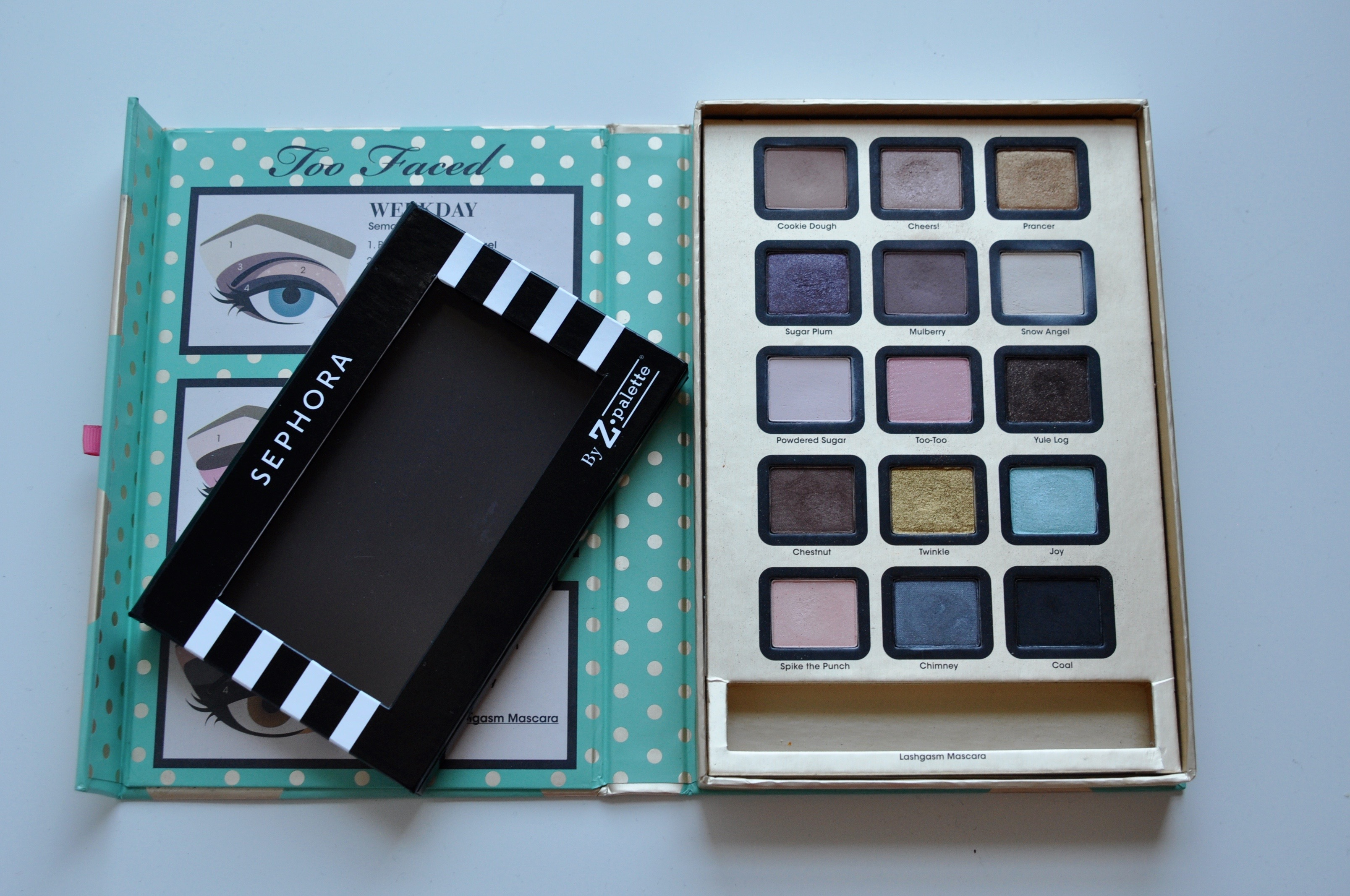 Too Faced Sephora Z Palette Depotting | Bolt Blogs