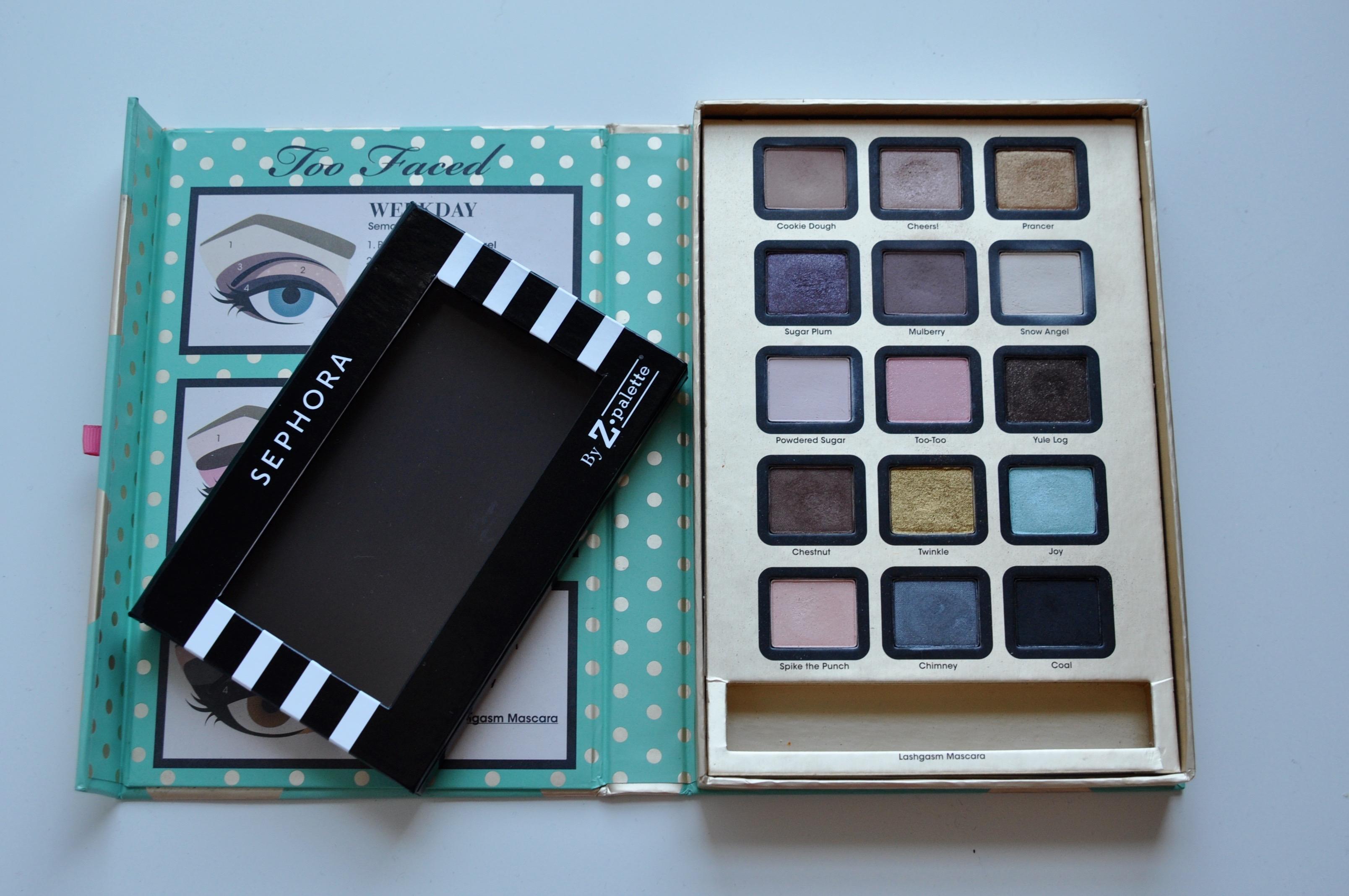 Too Faced Sephora Z Palette Depotting | Bolt Blogs