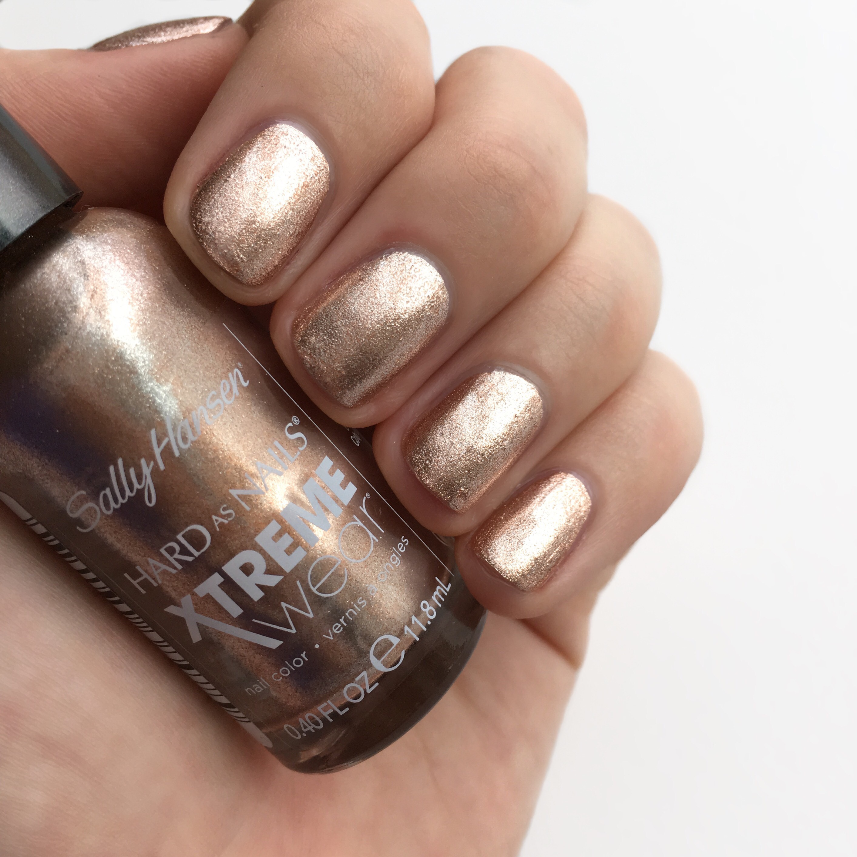 Sally Hansen Golden Nail Polish | Bolt Blogs