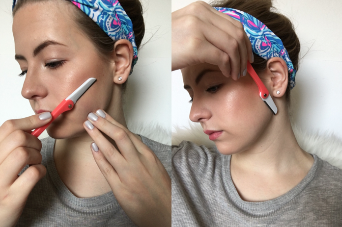 Women Shaving Their Face | Bolt Blogs