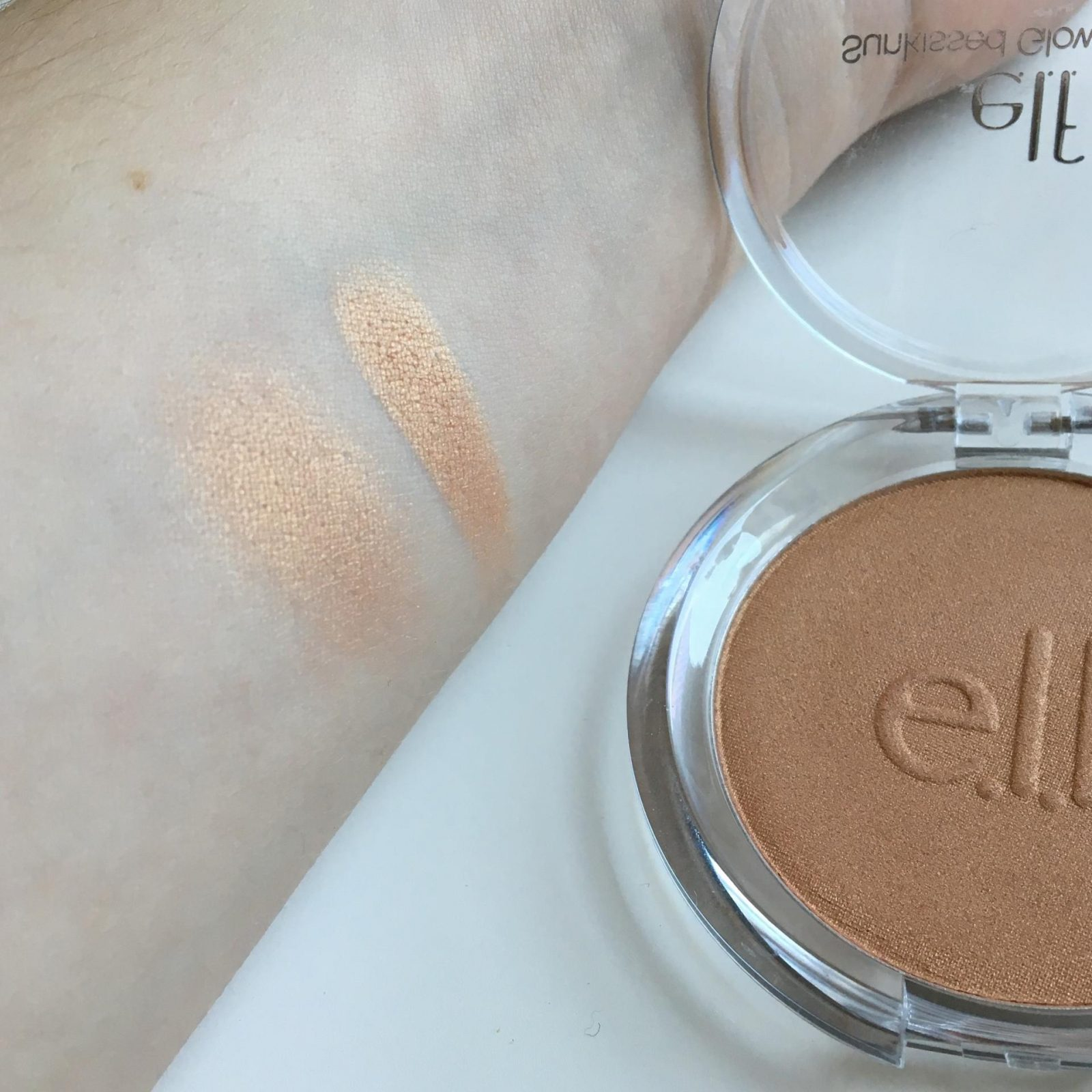 elf Sunkissed Glow Bronzer swatch