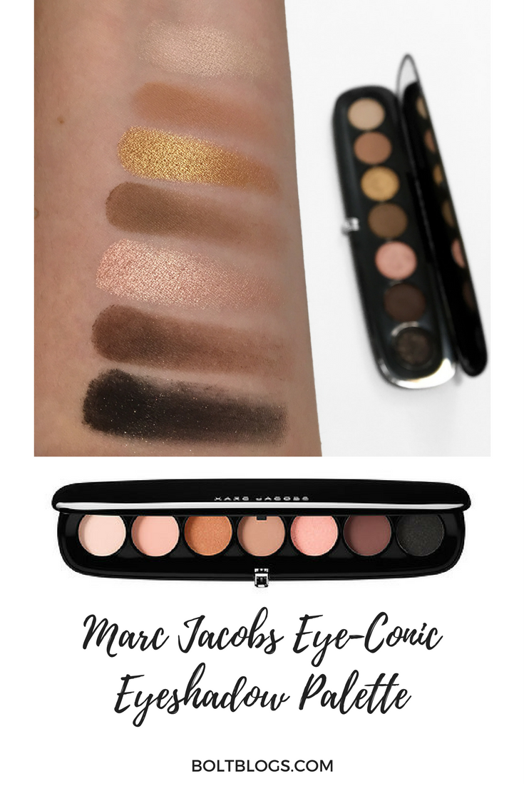Marc Jacobs Eye-Conic Eyeshadow Palette Review