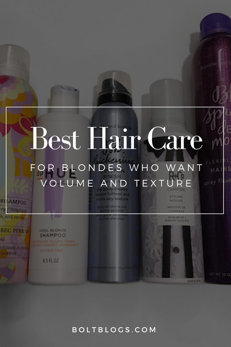 Hair Care Favorites for Blondes