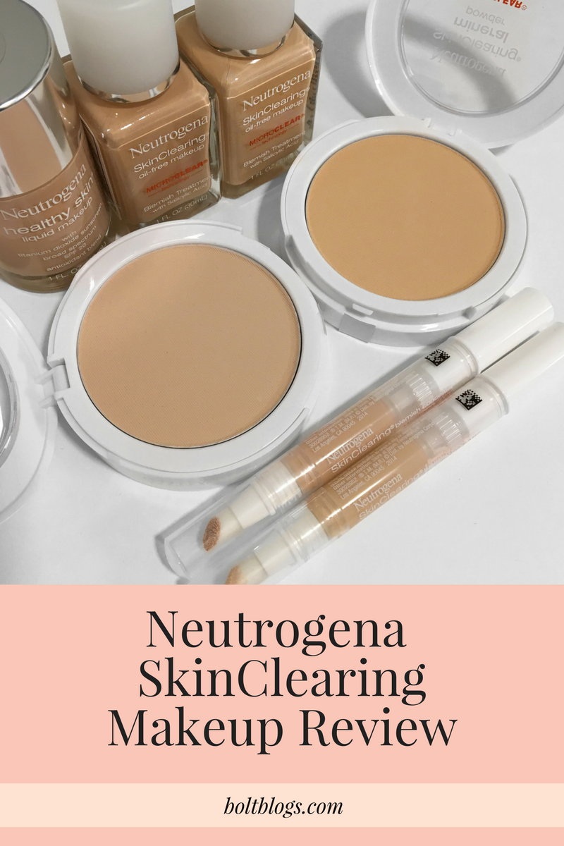 Neutrogena SkinClearing Review