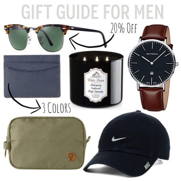 Gift Guide for Men: Best of the Sales