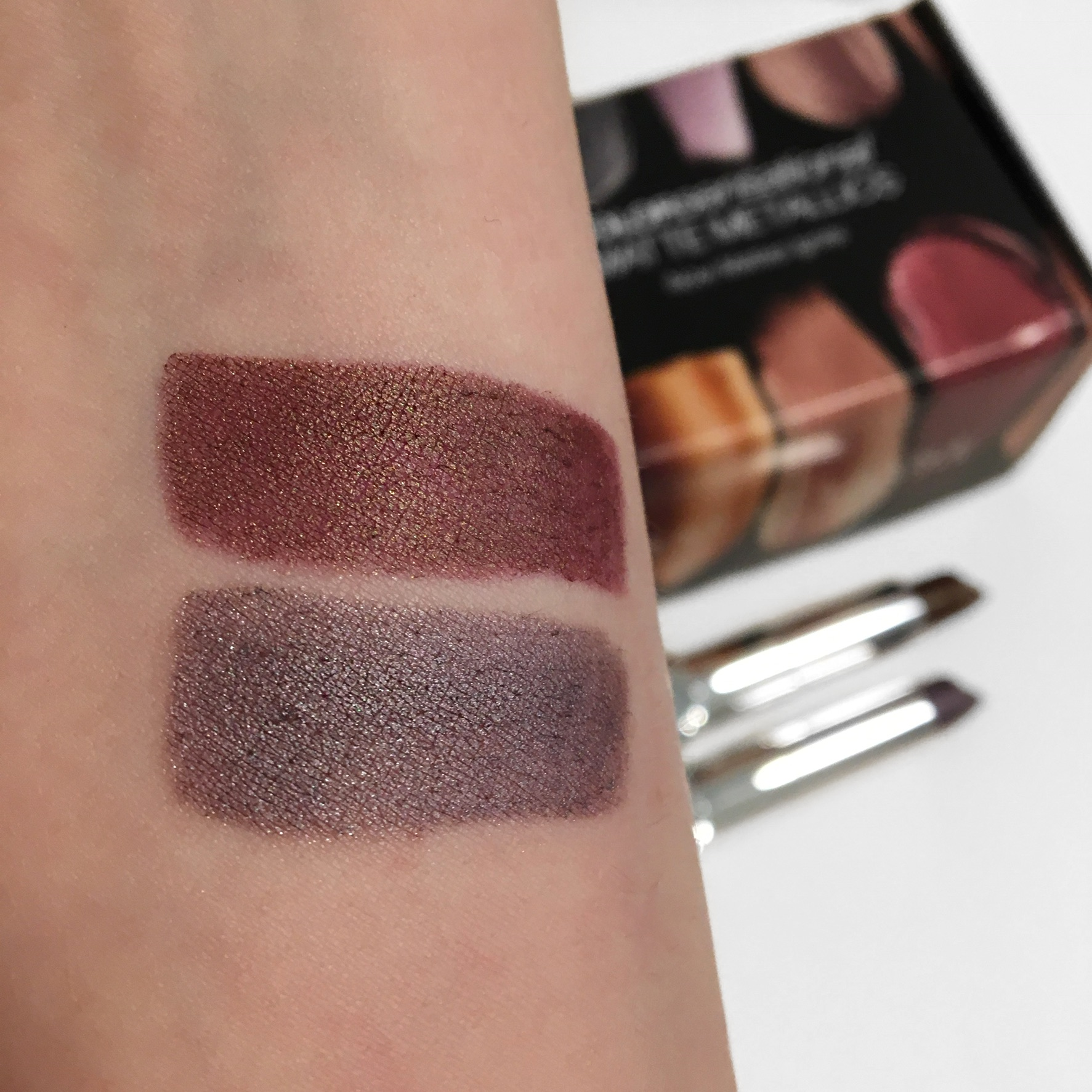 Maybelline Matte Metallics Swatches.JPG