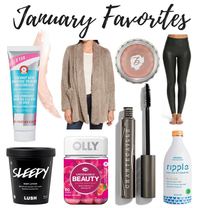 January Favorites 2018