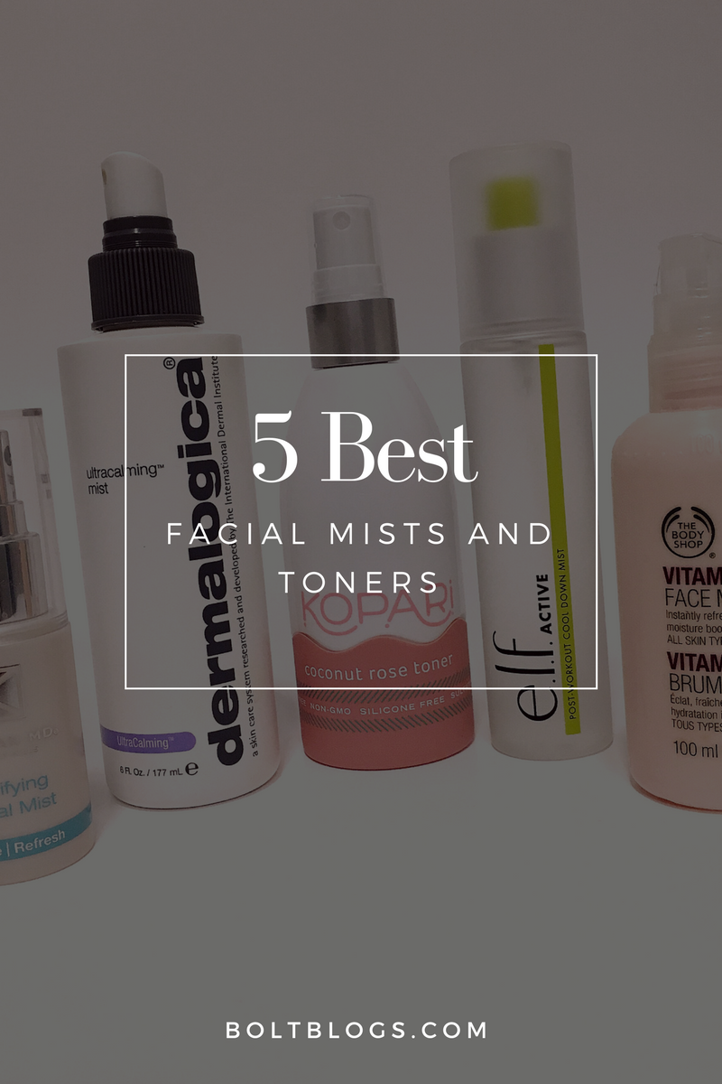 5 Best Facial Mists & Toners
