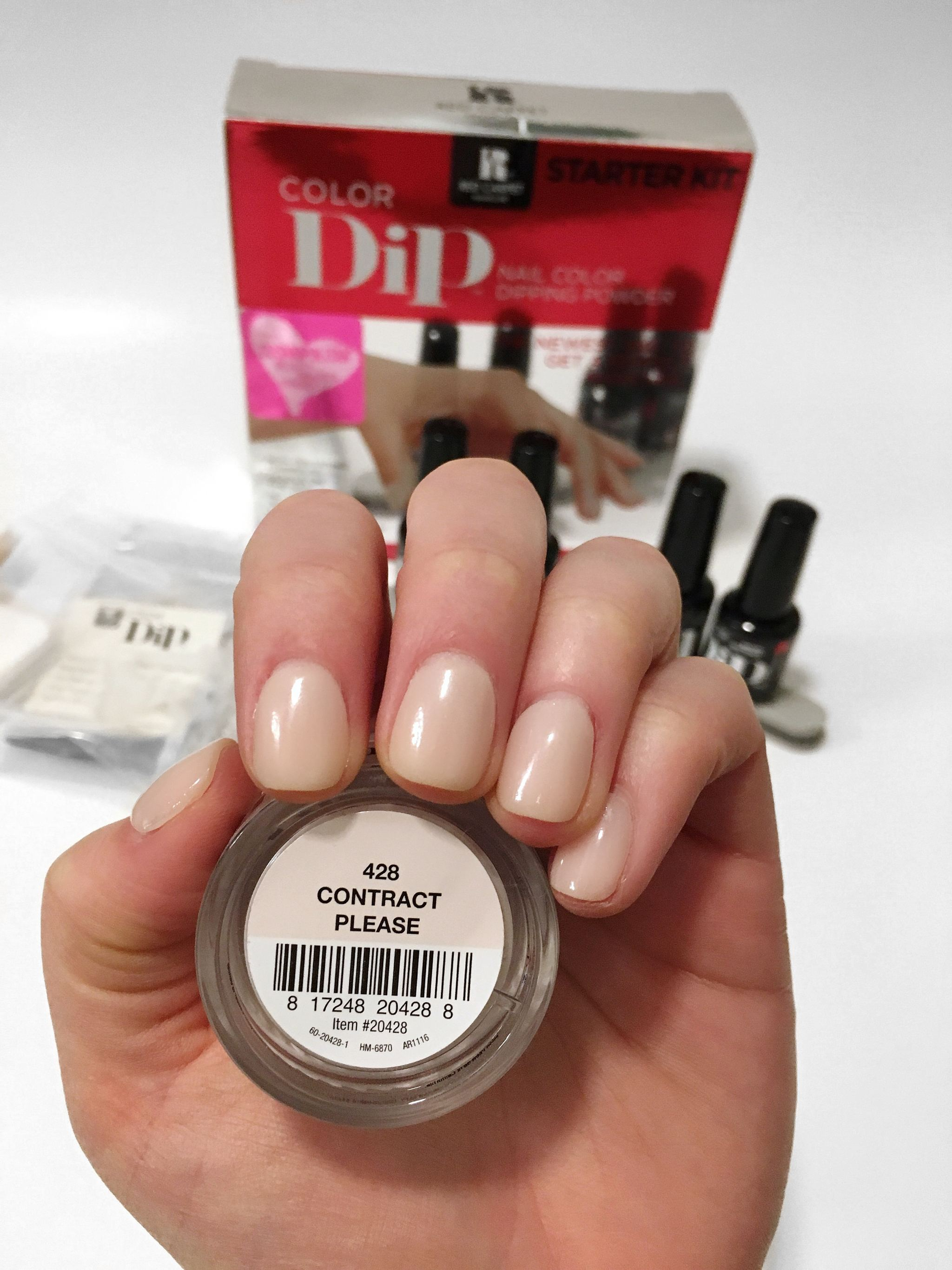 Red Carpet Manicure Dip powder review.JPG
