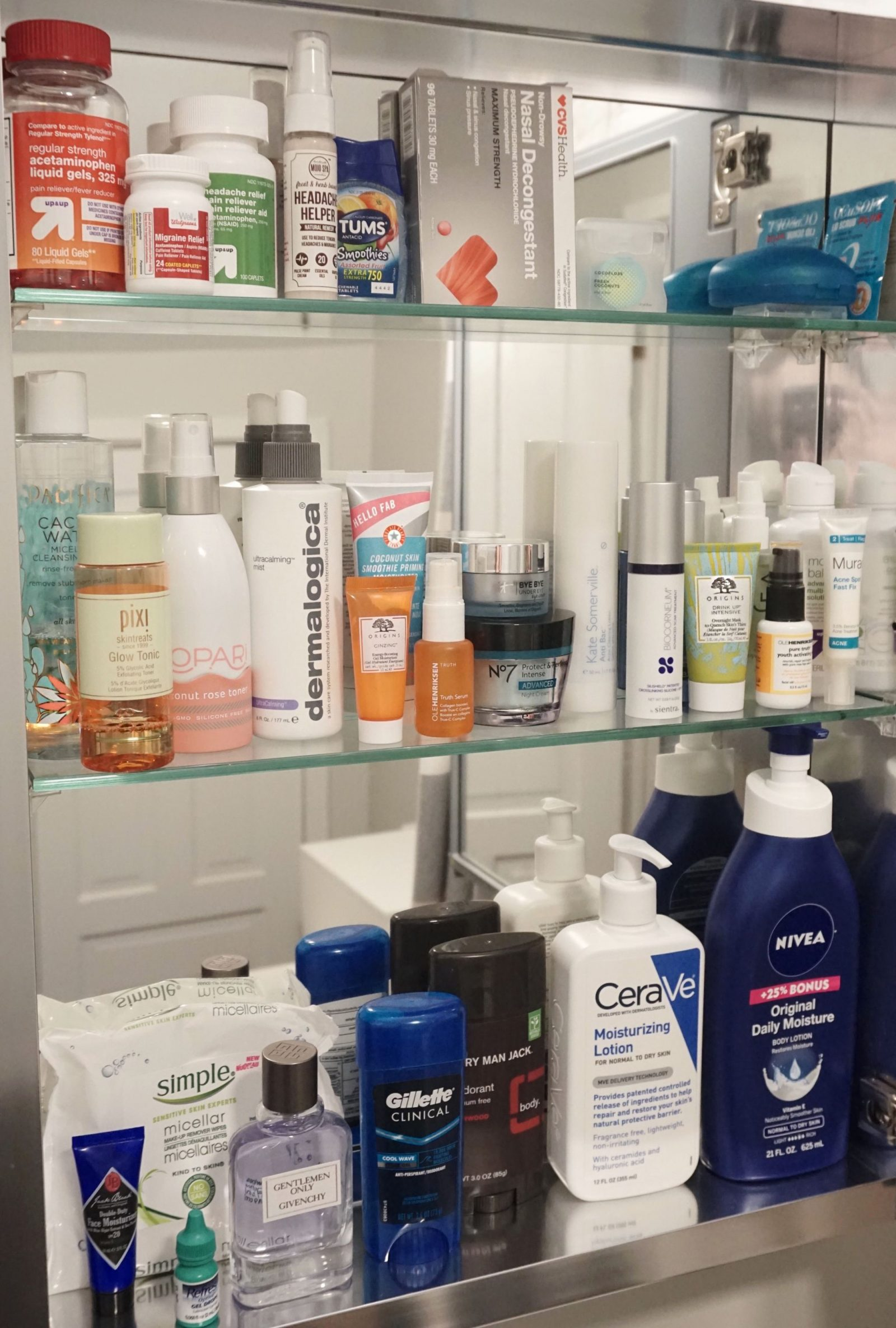 His & Hers Medicine Cabinet Essentials