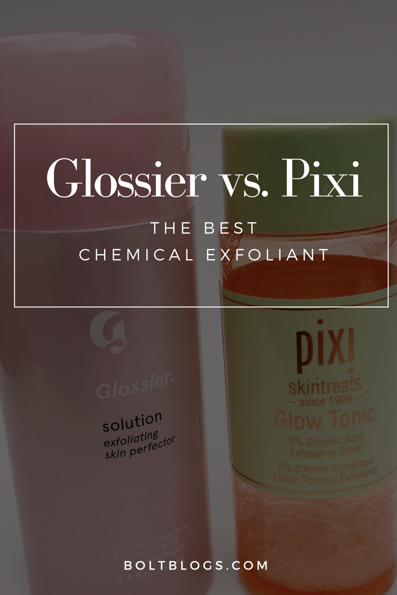 Pixi Glow Tonic vs. Glossier Solution
