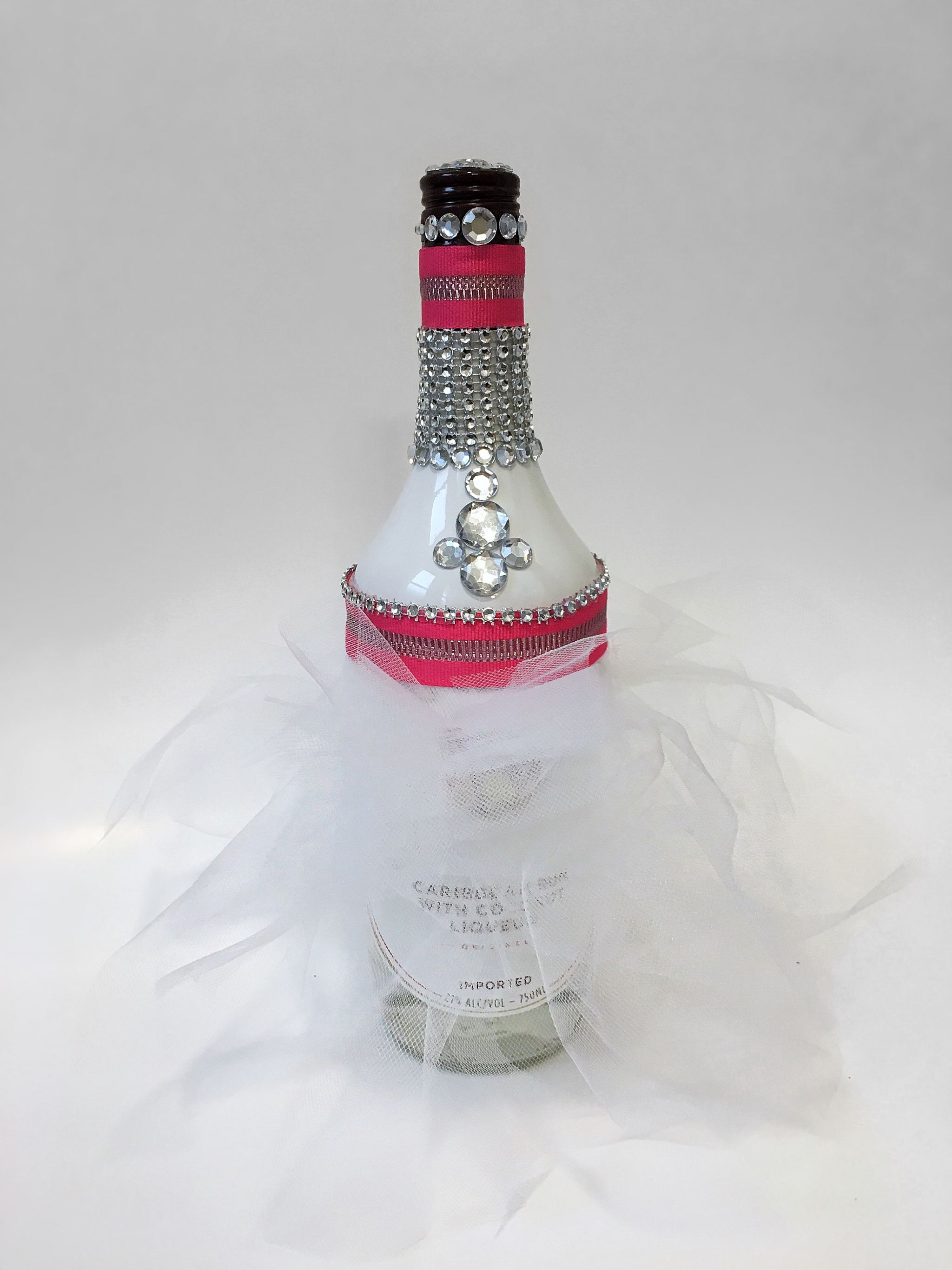 Egagement Gift Alcohol Bottle Decorate