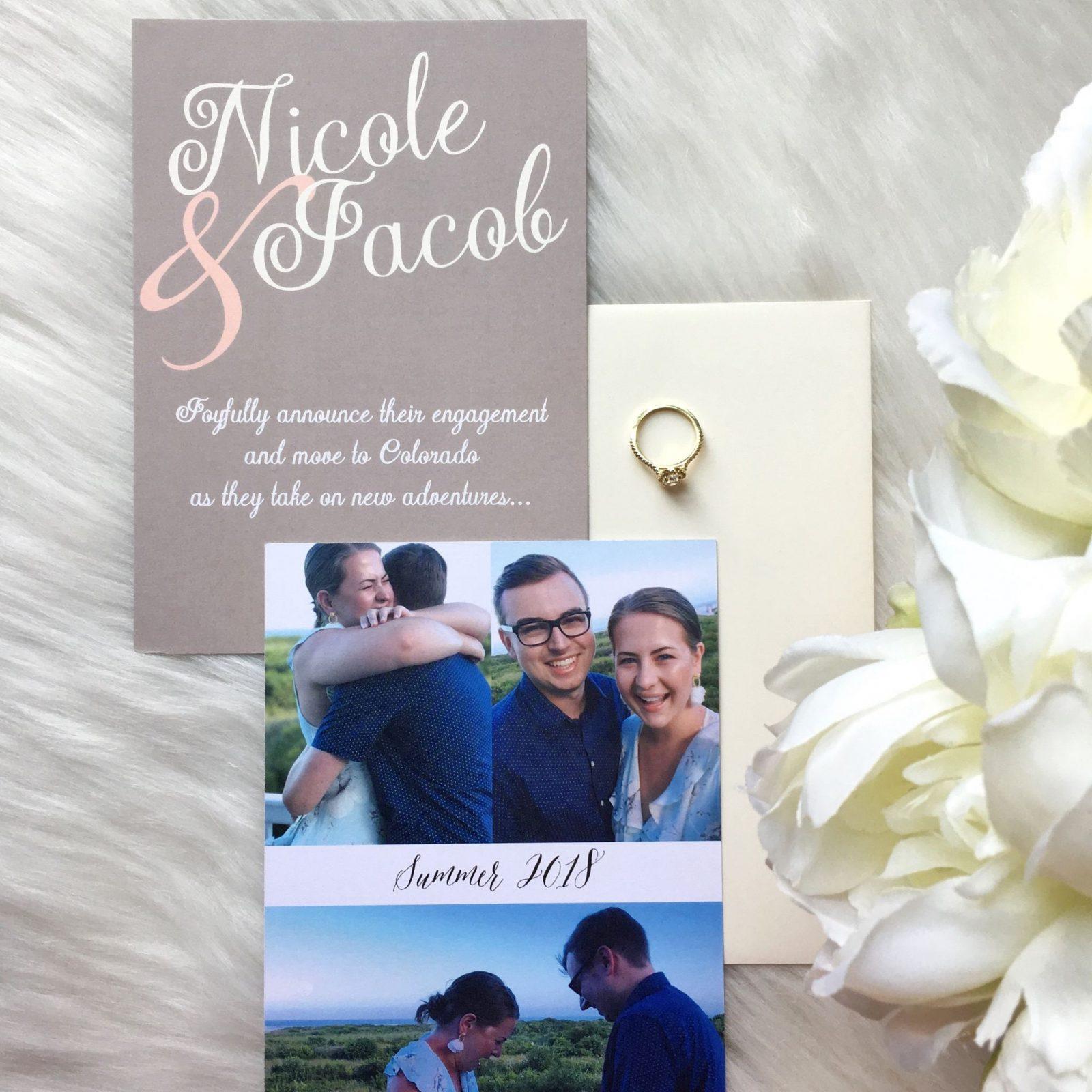 #WeddingWednesday: Modern Invitations