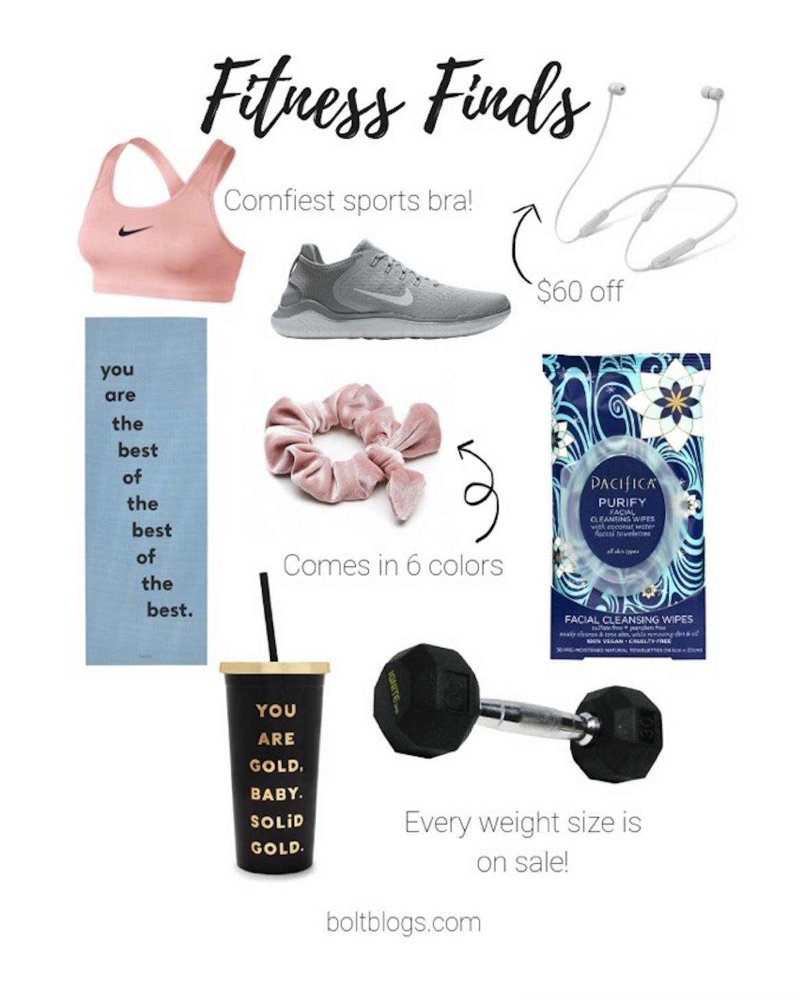 Workout Essentials: All on Sale