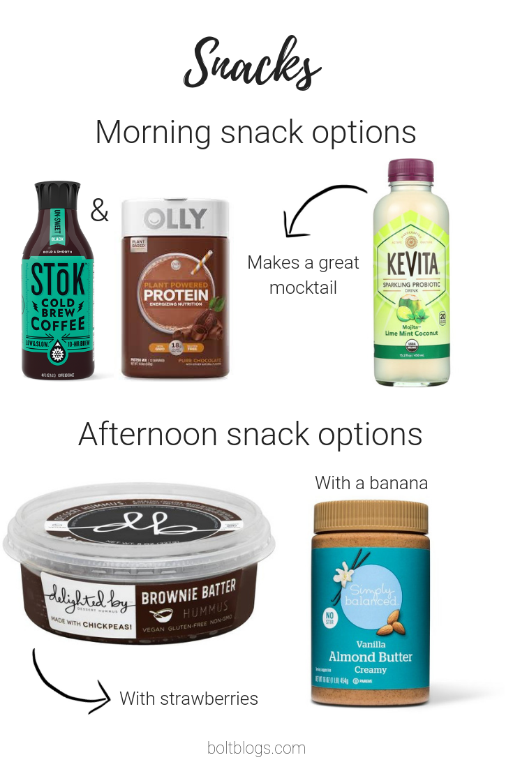 Snack ideas weight loss