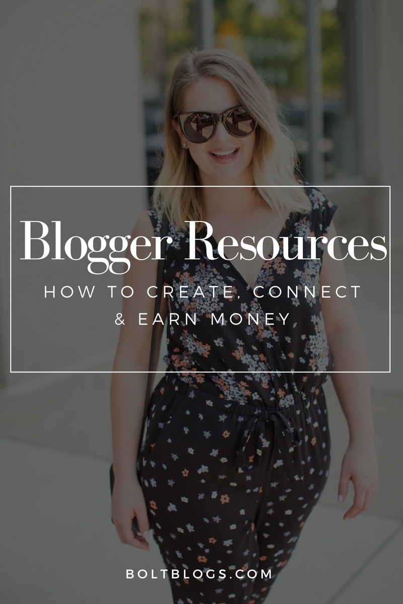 Blogger Resource Guide