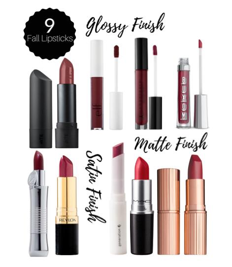 9 Best Fall Lipsticks