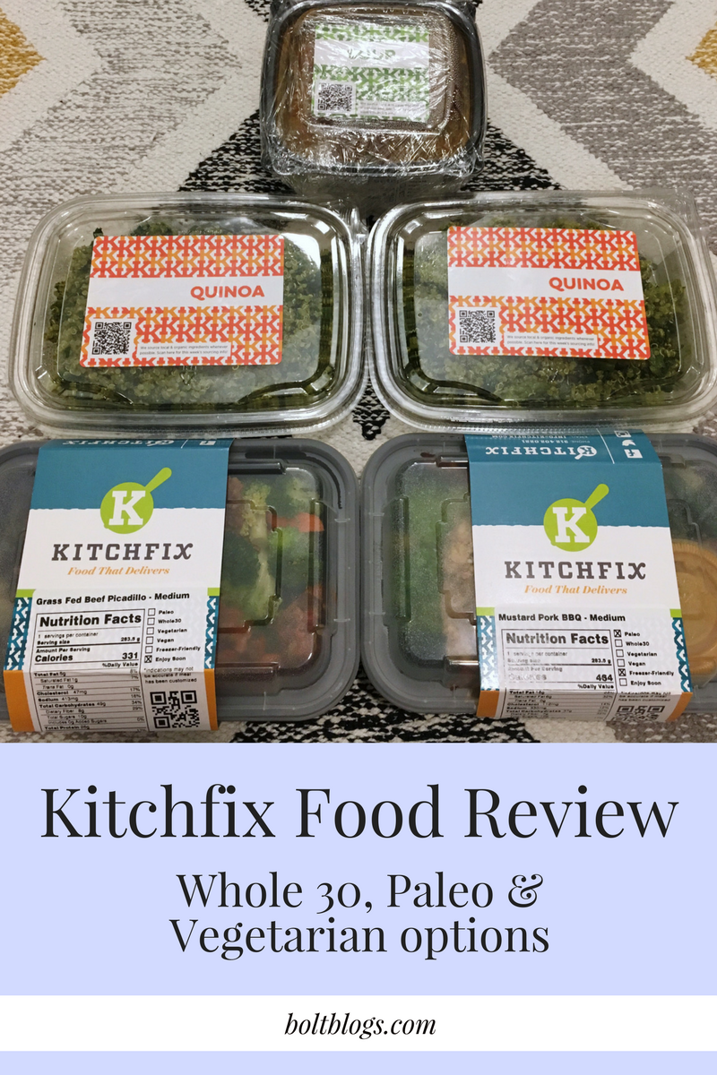 Kitchfix Food Review & Favorites