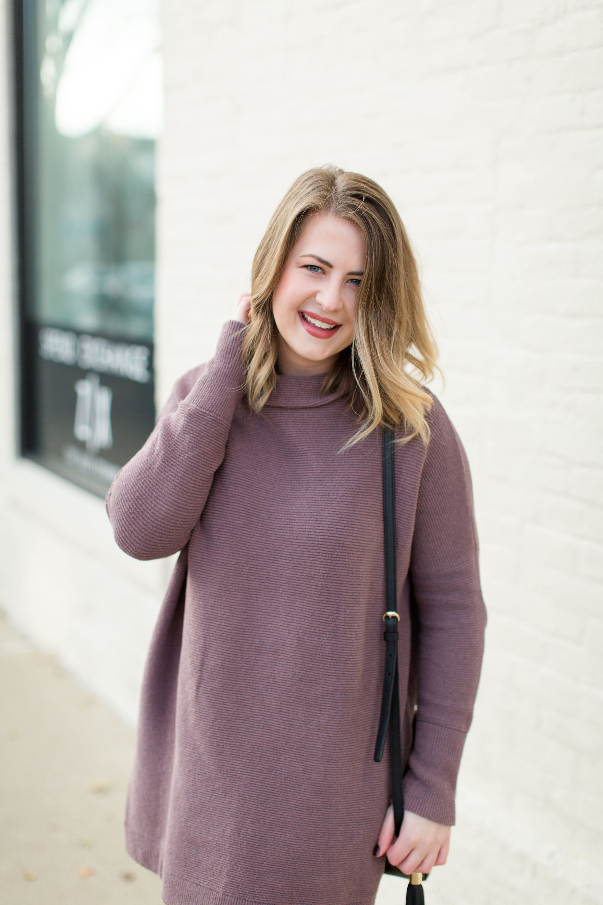 Free People Ribbed Tunic Sweater