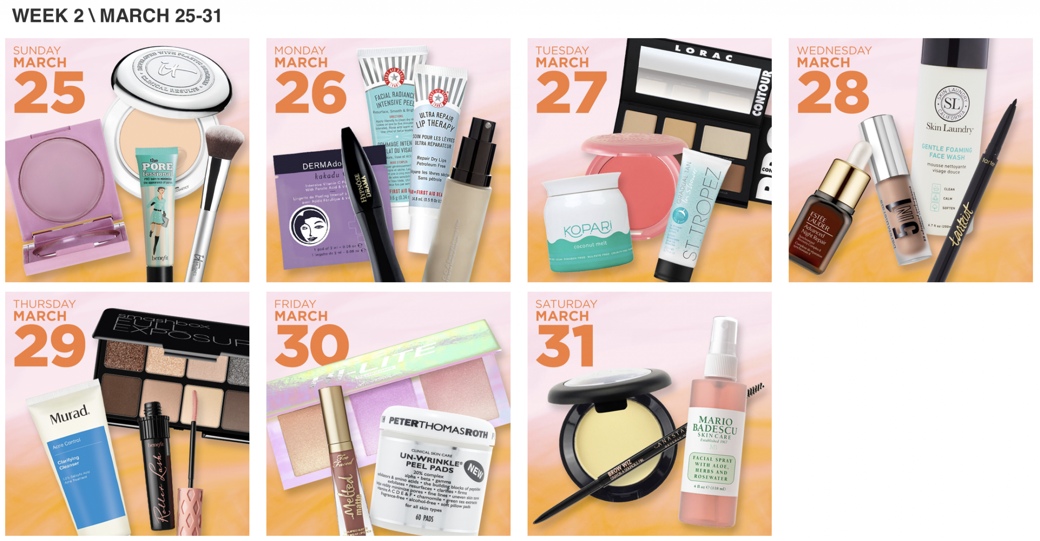 Ulta 21 Days of Beauty 2018 Week 2.png