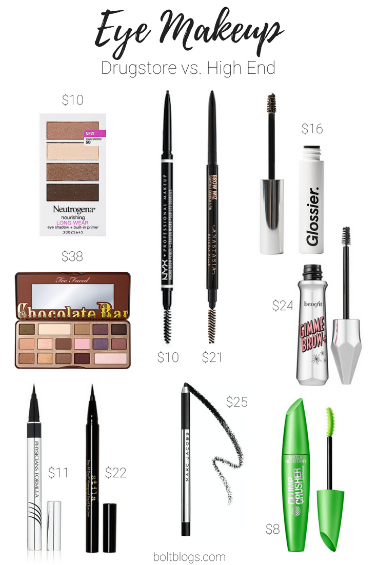 All Time Favorites Drugstore Dupes For High End Makeup Bolt Blogs