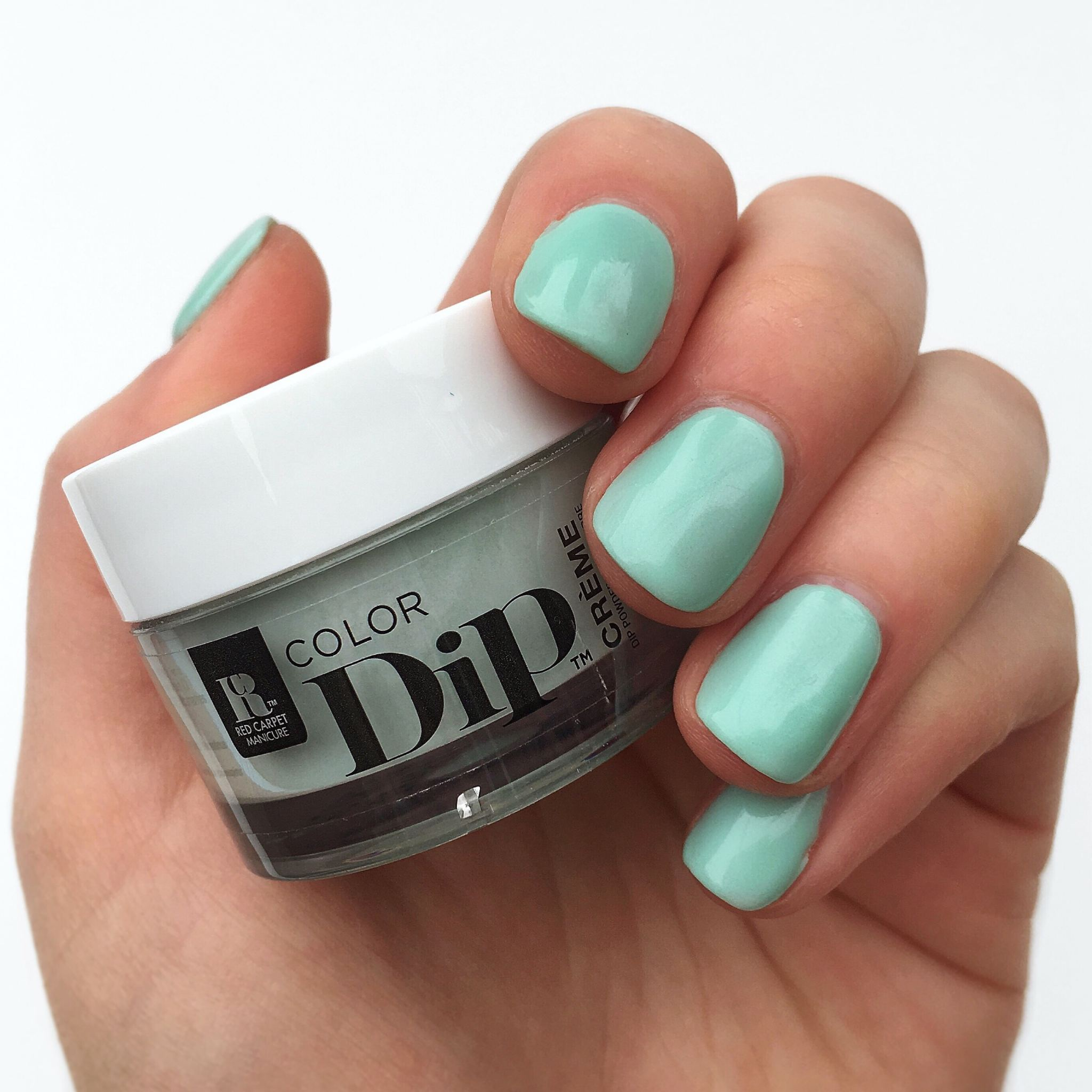 Red Carpet Manicure Mint to be